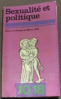 10/18 ? Acte du colloque de milan-1975.: PHILOSOPHIE SCIENCES HUMAINES]
