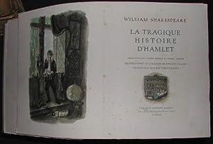 La tragique histoire d'Hamlet.: SHAKESPEARE (William)
