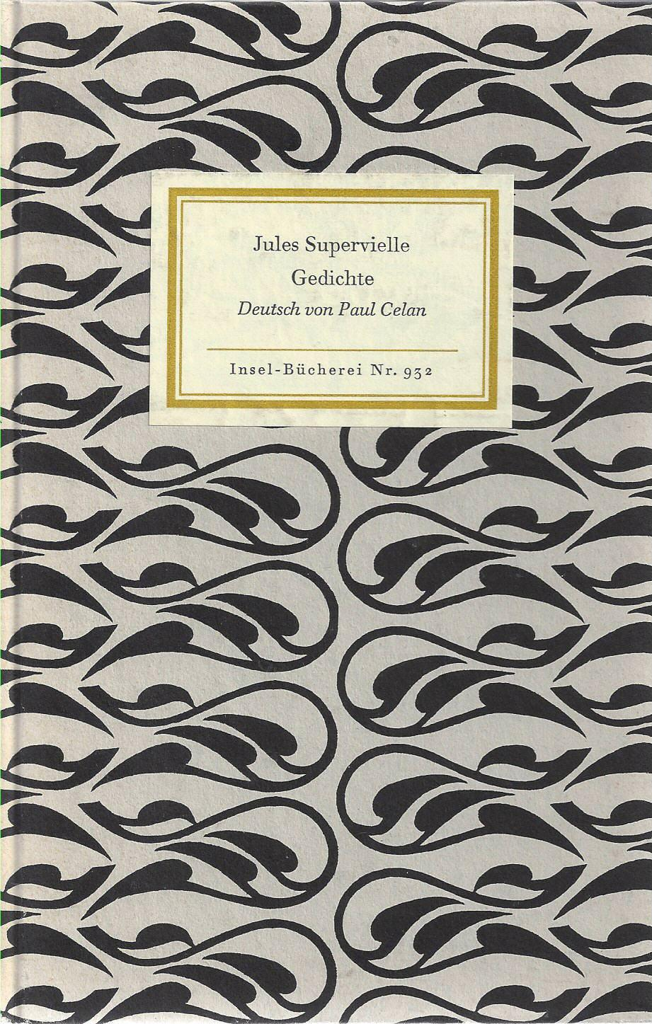 Gedichte. Deutsch von Paul Celan.: Supervielle, Jules: