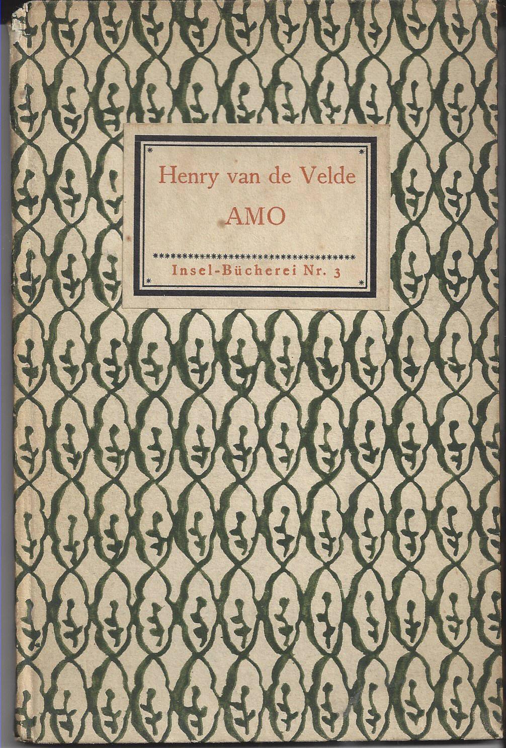 Amo.: Van de Velde,