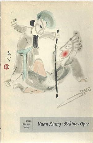 Gestalten und Szenen der Peking-Oper. 24 Pinselzeichnungen. Geleitwort von Gerhard Pommeranz-Liedke...