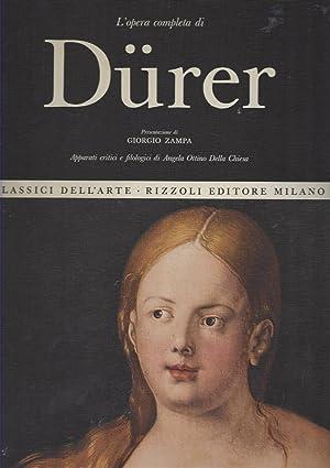 L opera completa di Dürer. Presentazione Giorgio: Zampa, Giorgio: