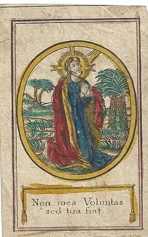Oratio in horto. Gebet im Garten Gethsemane.
