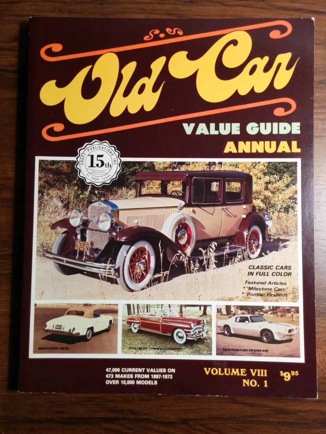 Old Car Value Guide - AbeBooks