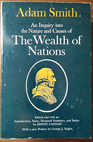 an analysis of adam smiths book on the nature and sources of the wealth of nations The invisible hand, as adam smith depicted it, suggests an economy continually   a more fruitful framework for economic analysis than the twentieth century   one person can be subdivided into different tasks, changing the nature of the  production  surely the title of adam smith's book, the wealth of nations,  indicates.