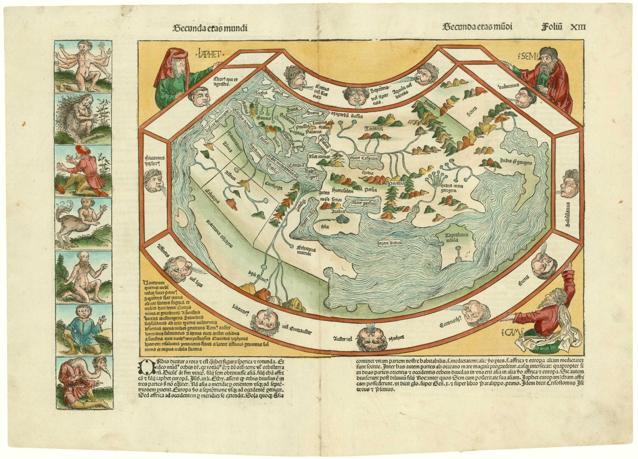 Ptolemy World Map Karten Zvab