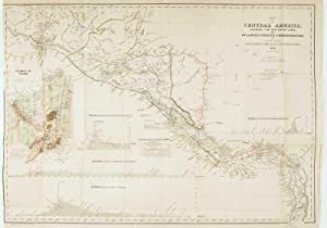 Map of Central America Shewing the Different: WYLD, James.