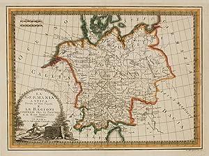 La Germania Antica divisa ne' suoi Populi.: CASSINI, Giovanni Maria.
