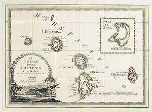 Le Isole della Società e di Noel: CASSINI, Giovanni Maria.