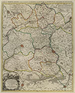 Le Diocese de Tournay.: JAILLOT, Alexis-Hubert.