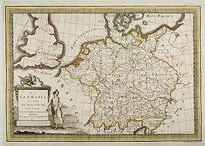 La Germania divisa ne' suoi circuli Delineata: CASSINI, Giovanni Maria.