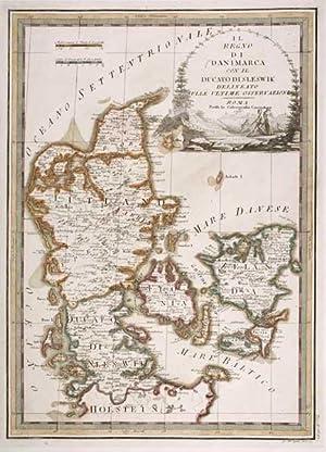 Il Regno di Danimarca con il Ducato: CASSINI, Giovanni Maria.