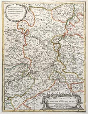 Estat et Seigneurie de L'Eves.ché de Lyege.: JAILLOT, Alexis-Hubert.