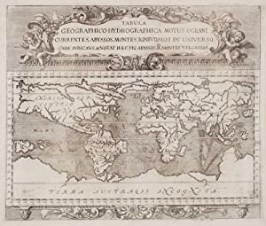 Tabula Geographico-Hydrographica Motus Oceani Currentes, Abyssos, Montes: ZAHN, Johann.