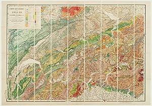 Carte Geologique de la Suisse de M.M.B.: STUDER, Bernhard.
