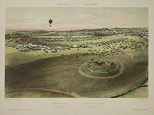 Epsom Races, view taken in balloon/ Courses: ARNOUT, Jules.