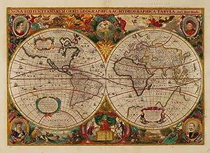Nova Totius Terrarum Orbis Geographica Ac Hydrographica: HONDIUS, Henricus.