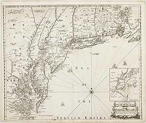 A New Map of New England, New: THORNTON, John, MORDEN,