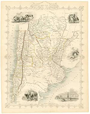Chili and La Plata.: TALLIS, John.