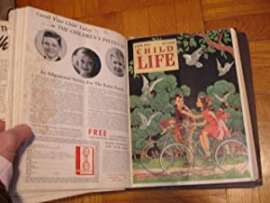 Child Life Magazine Bound Volume, January to December 1942