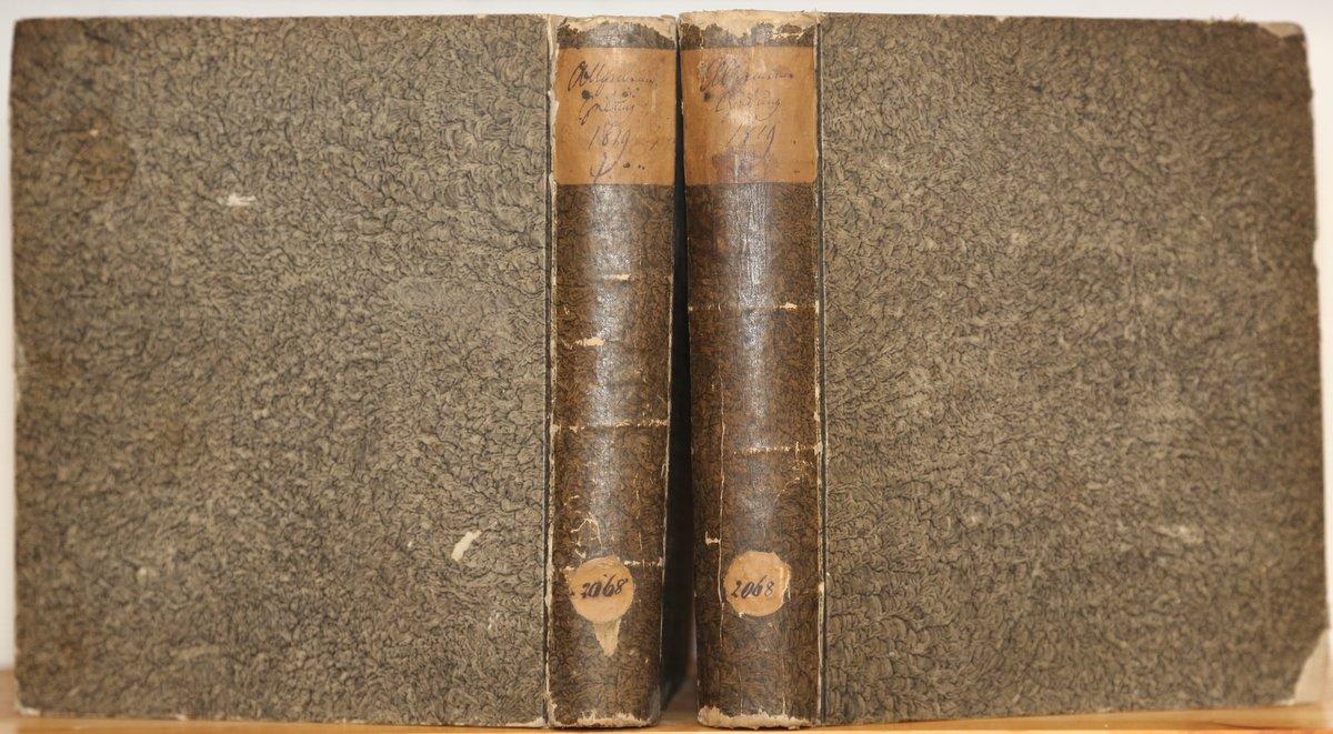 Jahrgang 1819. 4 Quartale in 2 Bänden: Allgemeine Zeitung:
