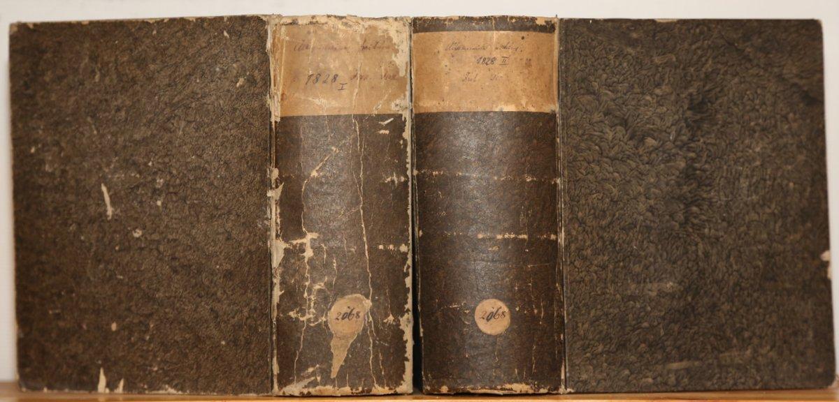Jahrgang 1828. 4 Quartale in 2 Bänden.: Allgemeine Zeitung: