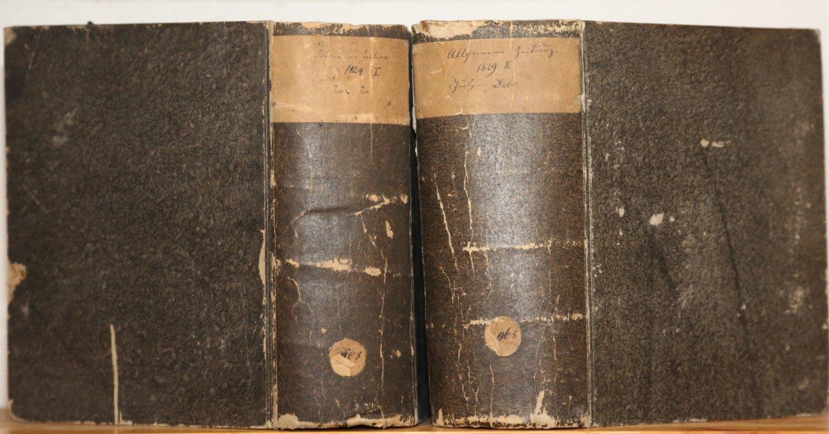 Jahrgang 1829. 4 Quartale in 2 Bänden.: Allgemeine Zeitung: