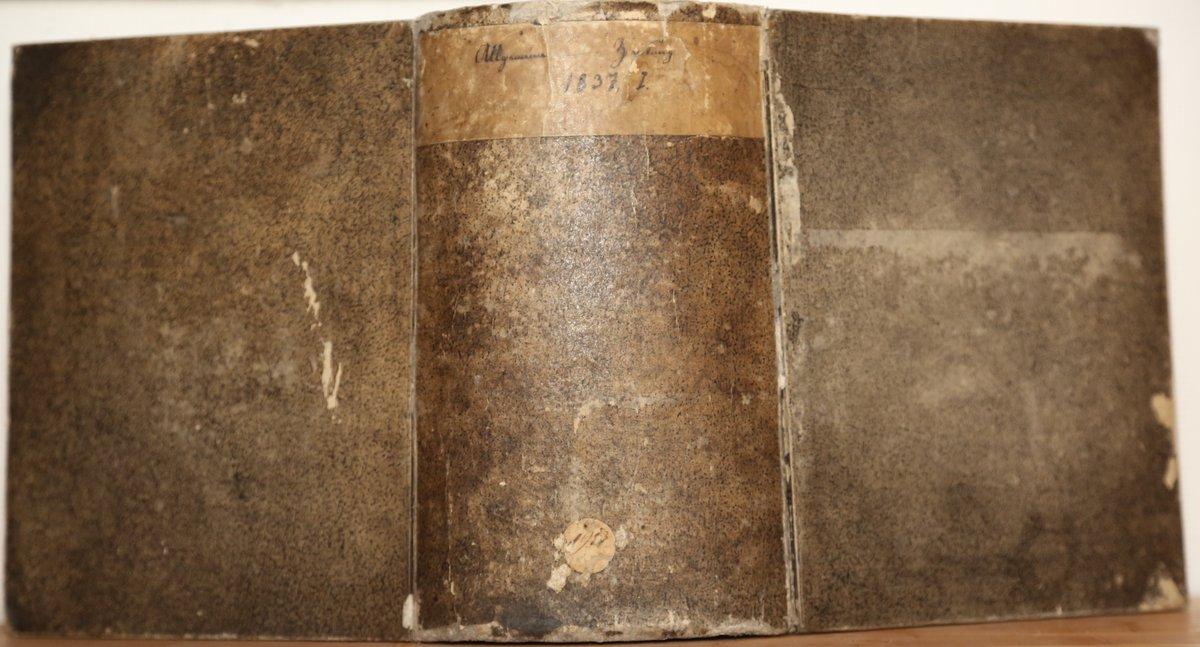 Jahrgang 1837. I.+II. Quartal (1. Jan.-30. Juni): Allgemeine Zeitung: