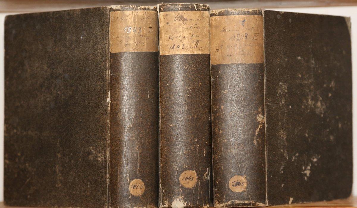 Jahrgang 1843. 1.-2. und 4. Quartal in: Allgemeine Zeitung: