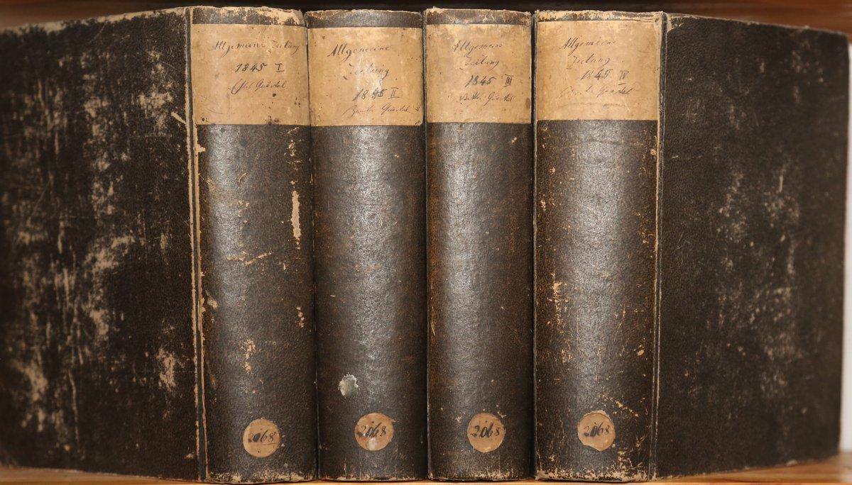 Jahrgang 1845. 4 Quartale in 4 Bänden.: Allgemeine Zeitung: