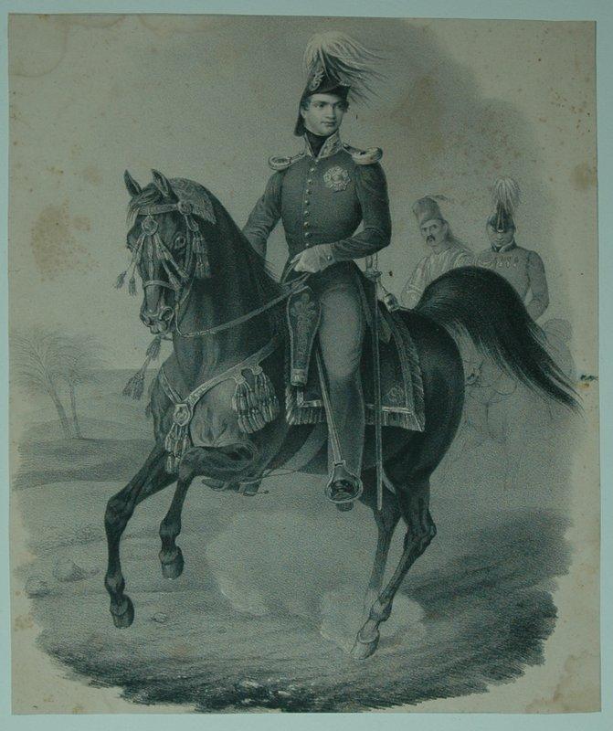 portrait otto zu pferde hinter ihm 2 otto i von