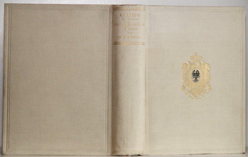new style ff344 db2f5 Katalog der königlichen National-Galerie zu Berlin. Festausgabe  Jordan,  Max