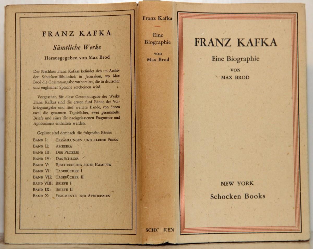 brod franz kafka eine biographie zvab - Franz Kafka Lebenslauf