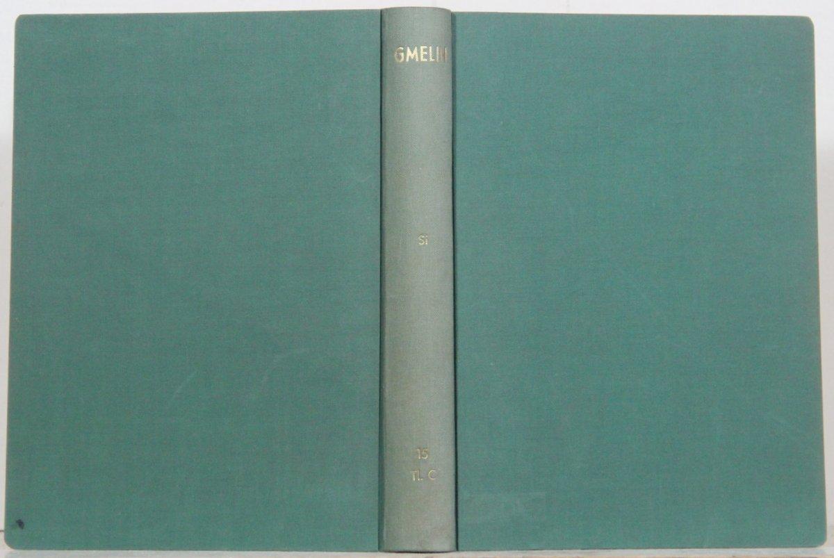 Handbuch Der Anorganischen Chemie Gmelin