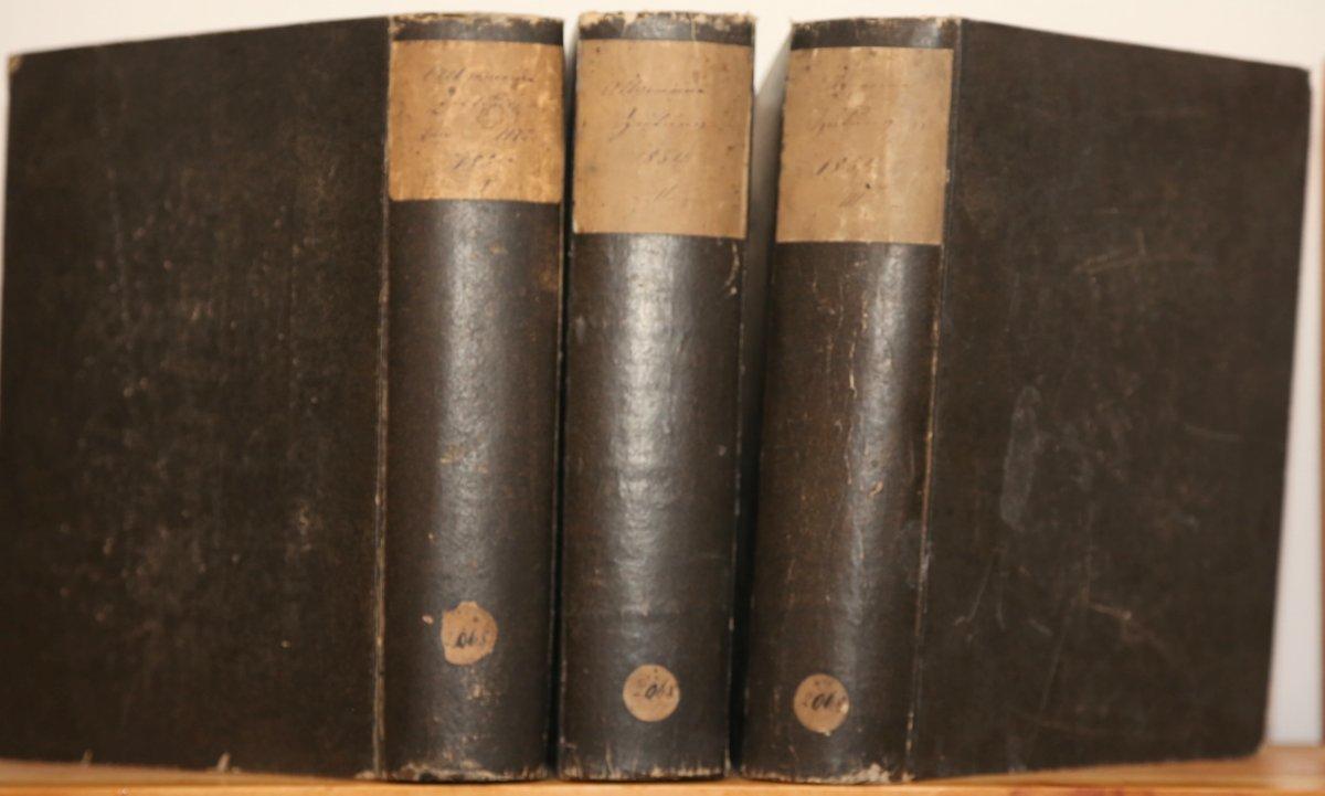 Jahrgang 1854. 1.-3. Quartal in 3 Bänden.: Allgemeine Zeitung: