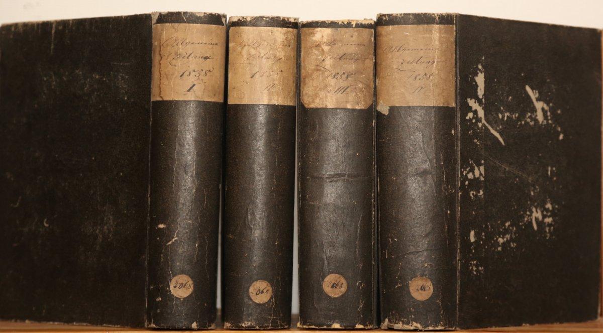 Jahrgang 1858. 4 Quartale in 4 Bänden.: Allgemeine Zeitung: