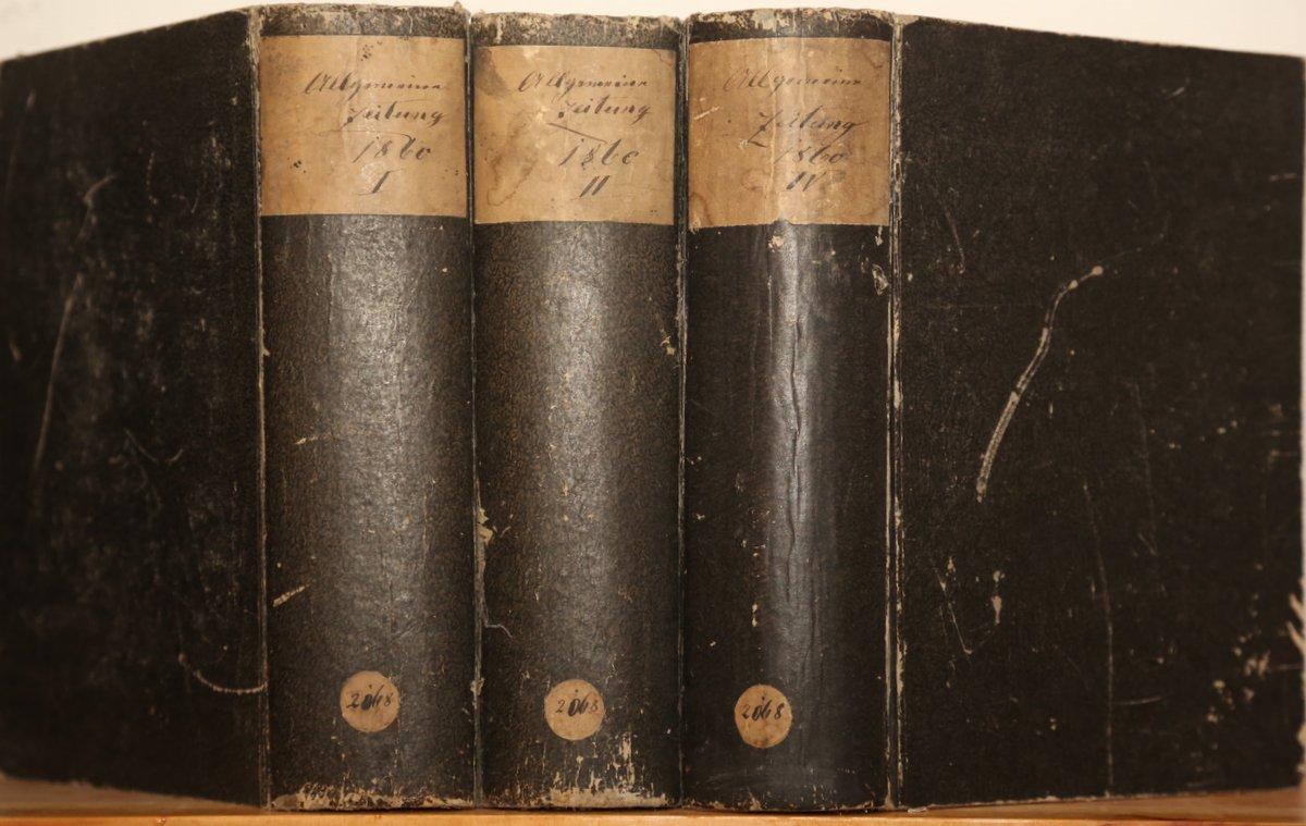 Jahrgang 1860. 1., 2. und 4. Quartal: Allgemeine Zeitung: