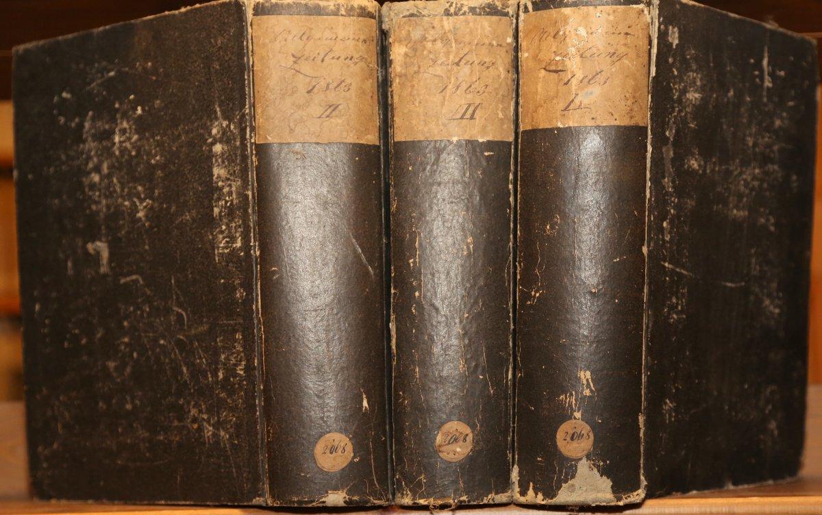 Jahrgang 1863. 2., 3. und 4. Quartal: Allgemeine Zeitung: