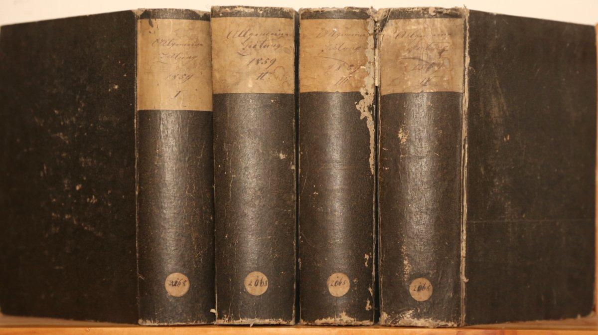 Jahrgang 1859. 4 Quartale in 4 Bänden.: Allgemeine Zeitung:
