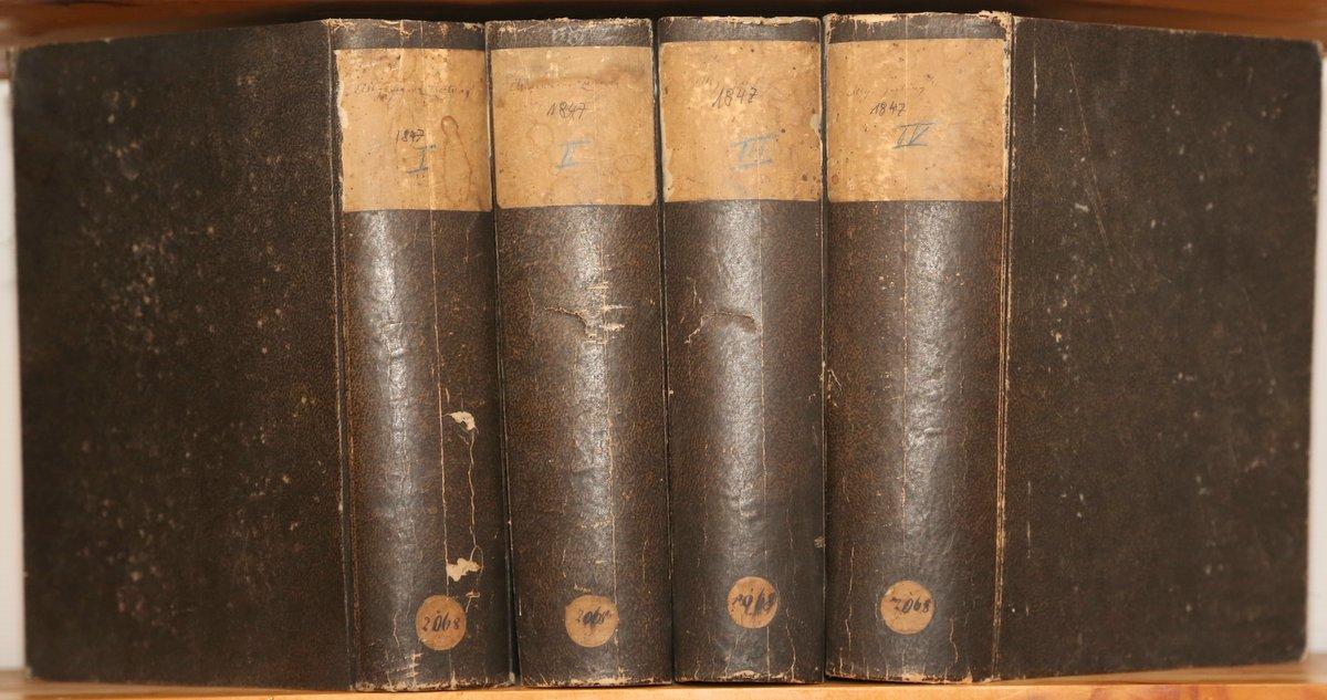 Jahrgang 1847. 4 Quartale in 4 Bänden.: Allgemeine Zeitung: