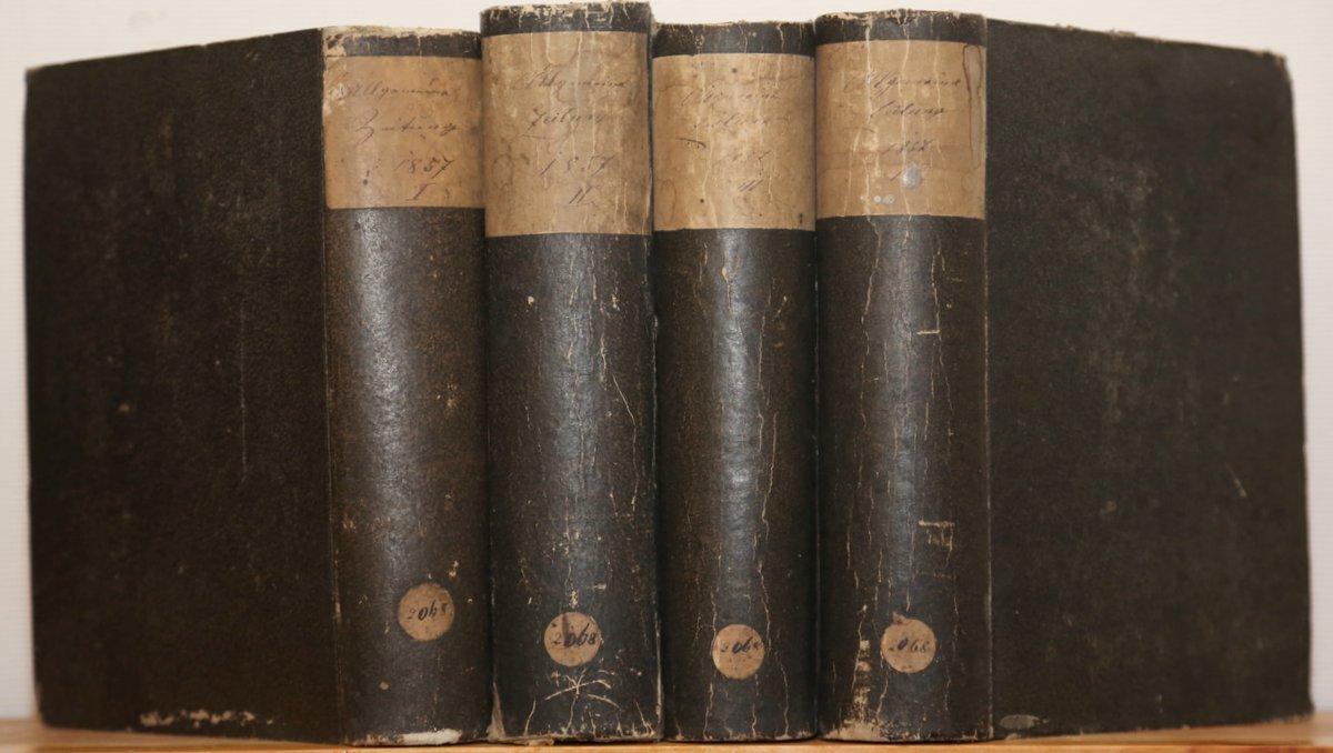 Jahrgang 1857. 4 Quartale in 4 Bänden.: Allgemeine Zeitung: