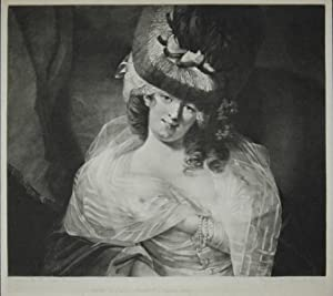 A Parmesan Lady. (Love in her eye sits playing). Mezzotint from John Raphael Smith after the pain...