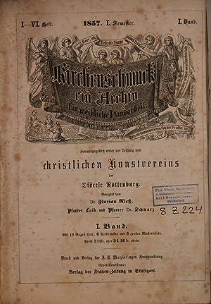 Kirchenschmuck. Ein Archiv für kirchliche Kunstschöpfungen und