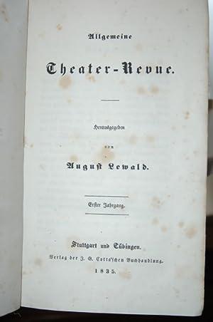 Allgemeine Theater-Revue. Erster Jahrgang.: Lewald, August (Hrsg.).: