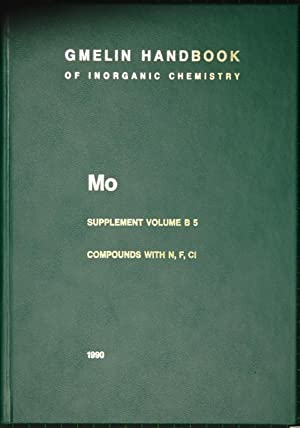 Gmelin Handbook of Inorganic and Organometallic Chemistry.