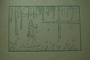 Sappho. Clyptographie von Maurice Dumont. Originale Relief-Radierung.: Dumont, Maurice (1869-1899):