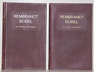 Rembrandt-Bijbel, 2 deelen met 240 afbeeldingen. Het: Bredt, E.W. (Hrsg.):