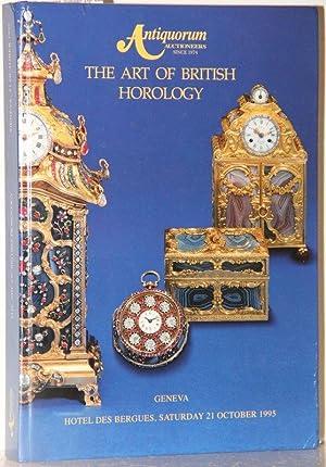 The art of british horlogy. An important: Antiquorum Auctioneers: