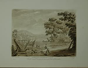 Landscape. From the original drawing in the collection of the Duke of Devonshire: A River Scene, ...