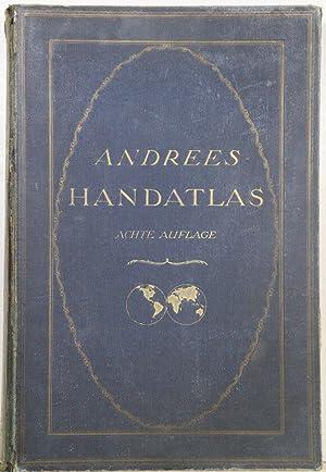 in 231 Haupt- und 211 Nebenkarten. 8.: Andree's Allgemeiner Handatlas: